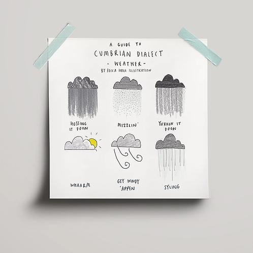 Cumbrian Weather Print