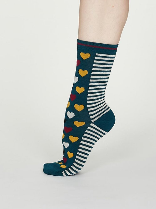 Thought Ladies Bamboo Heart Socks