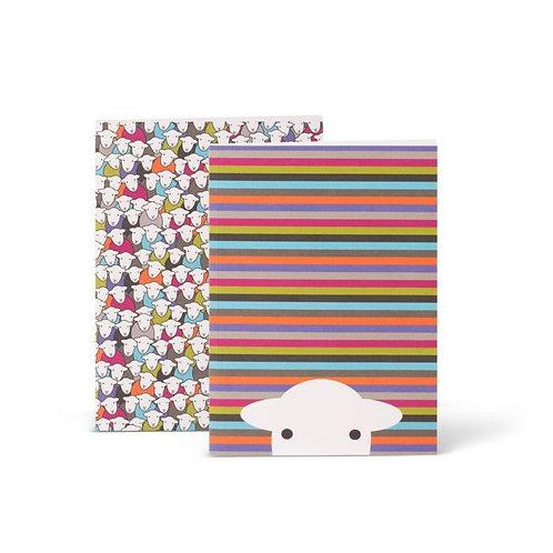 Herdy Set of 2 A5 Notebooks