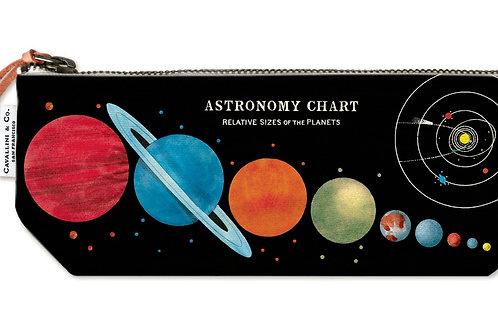 Cavallini Pouch in Astronomy Design - Small