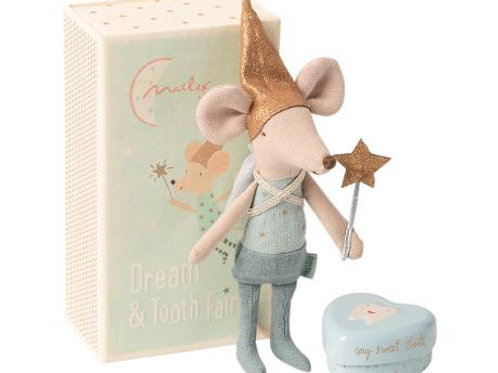 Maileg Tooth Fairy Mouse in Box Big Brother