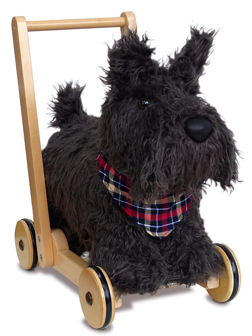 Scottie Dog Push Along