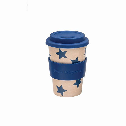 Emma Bridgewater Rice Husk Travel Cup Starry Skies