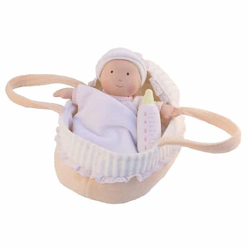 Baby Doll with Carrycot