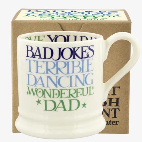 Emma Bridgewater Blue & Green Toast Wonderful Dad Mug