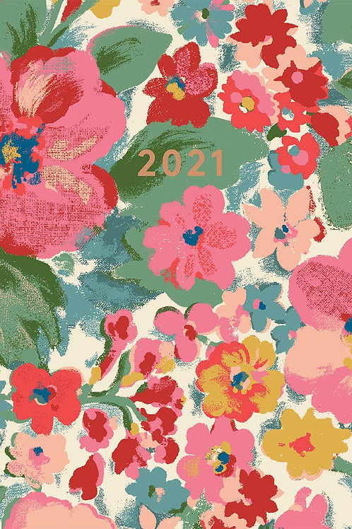 Cath Kidston A5 Diary 2021 - Painted Bloom