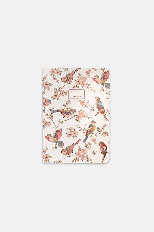 Cath Kidston A5 Notebook - British Birds