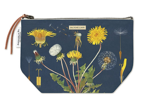 Cavallini Pouch in Dandelion Design - Large