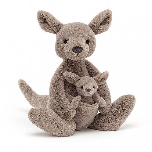 Jellycat Kara Kangaroo with Joey