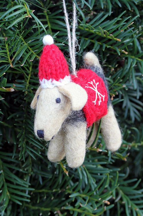 Brian the Welsh Terrier Decoration
