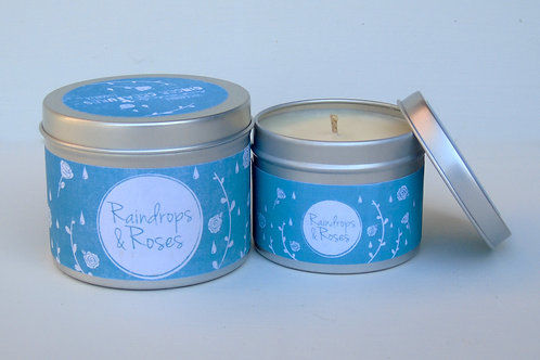 Raindrops & Roses Candle