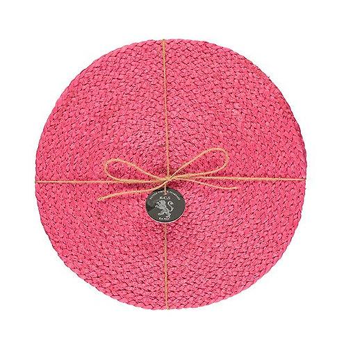 Jute Placemats in Neyron Rose