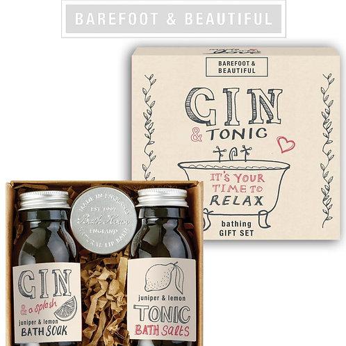 Barefoot & Beautiful 'Queen of Gin' Gift Box