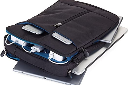 Troika Bag to Business - Laptop shoulder bag in Black