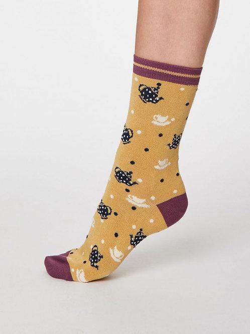 Thought Ladies Bamboo Teapot  Socks