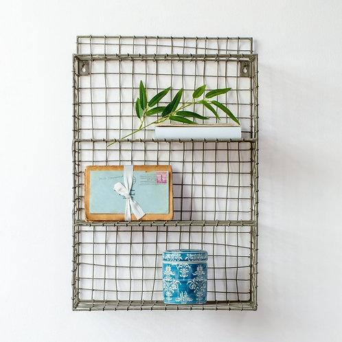Small Wire Shelf Unit