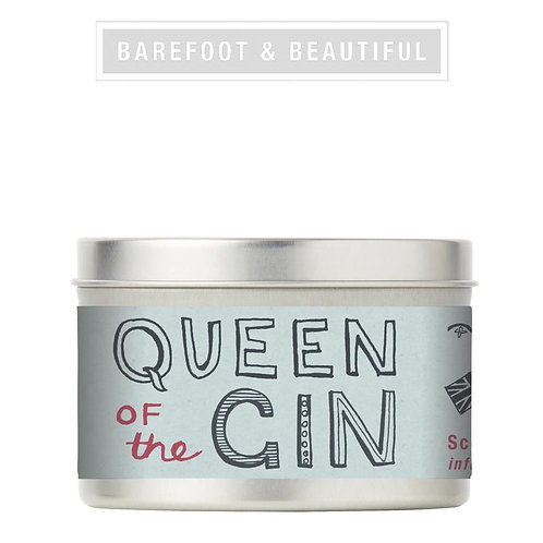 Barefoot & Beautiful Queen of the Gin Candle