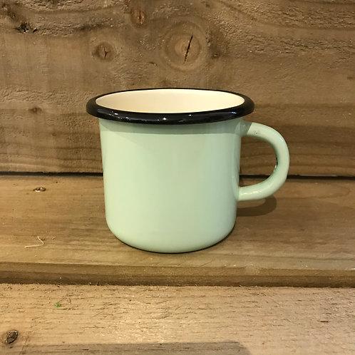 Enamel Mug - Mint Green