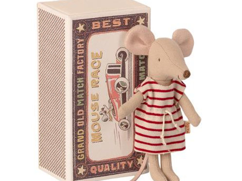 Maileg Big Sister Mouse in Box with Clothes
