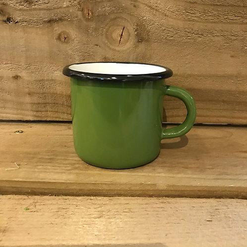 Enamel Mug - Green