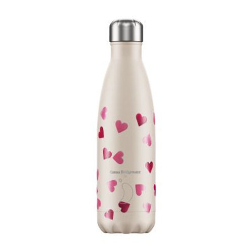 Chilly's Bottle Emma Bridgewater Pink Hearts 500ml