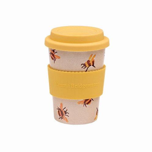 Emma Bridgewater Rice Husk Travel Cup Bees