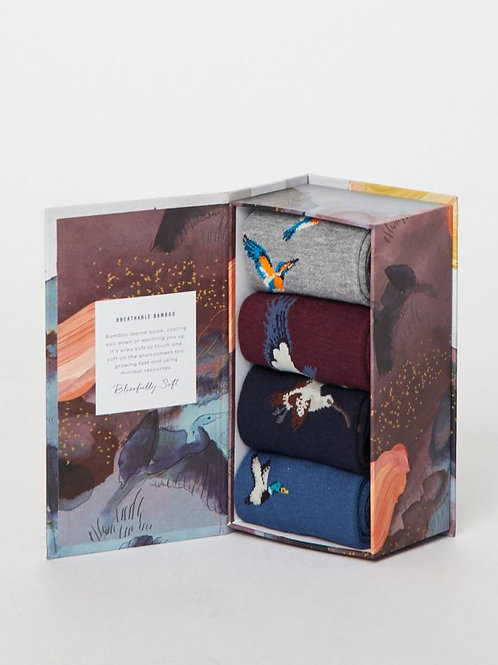 Thought Mens Gift Box - Birds designs