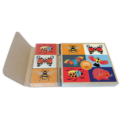 Wildlife Collection Seed Boxes
