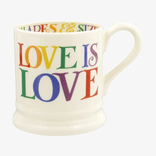 Emma Bridgewater Rainbow Love is Love  Mug