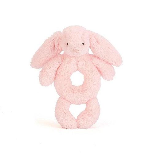 Jellycat Bashful Bunny Grabber -Pink