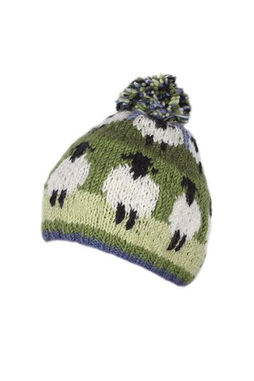 Sheep Bobble Hat