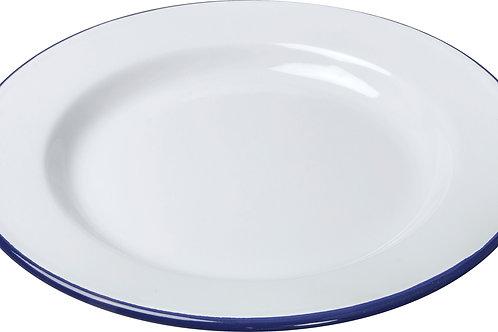 Enamel Dinner Plate - 24cm