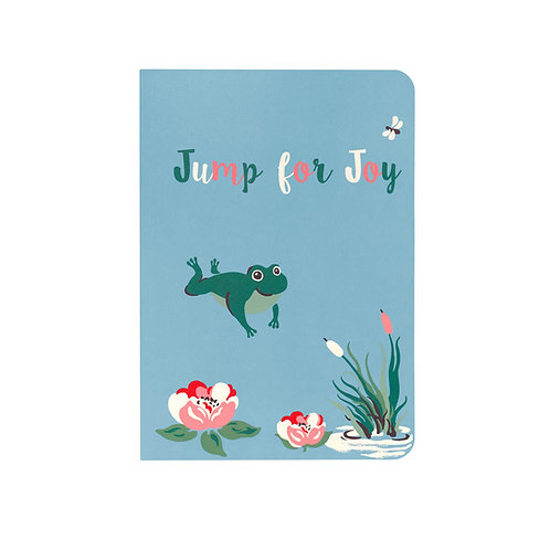 Cath Kidston A5 Notebook - Bathing Frogs