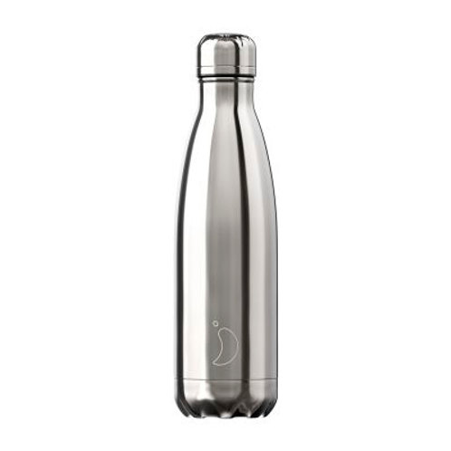 Chilly's Bottle Chrome Silver - 500ml