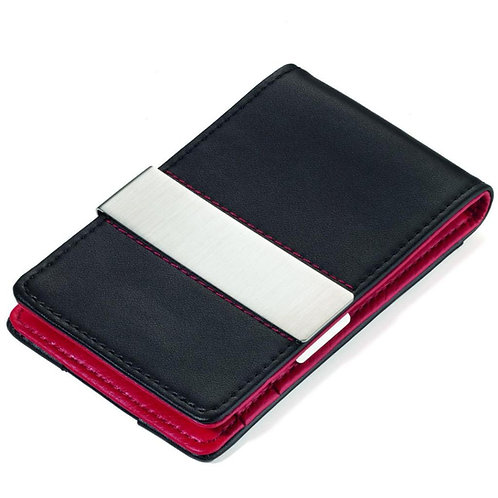 Troika Card Case - Red & Black