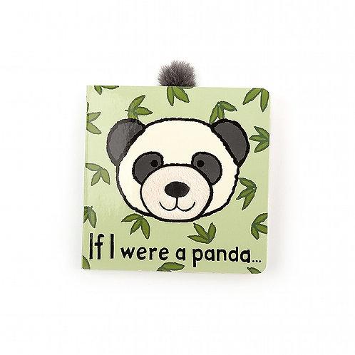Jellycat If I Were a Panda Book & Woogie Panda