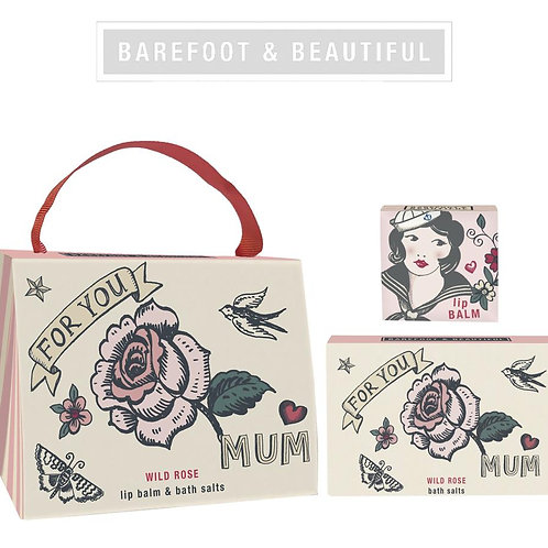 Barefoot & Beautiful 'Mum' Gift Handbag