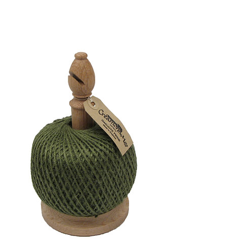 Wooden Stand with Twine