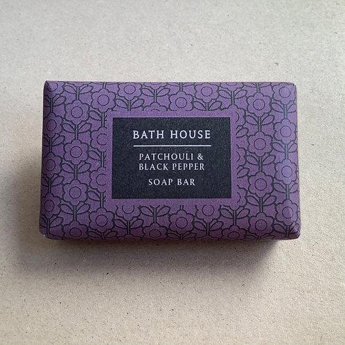 Bath House Patchouli & Black Pepper Soap