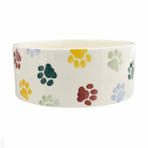 Emma Bridgewater Polka Paws Large Dog Bowl