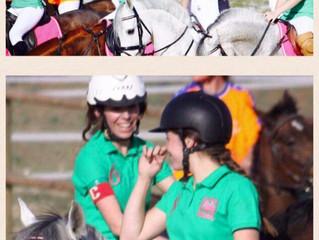 Segundo partido de horseball femenino