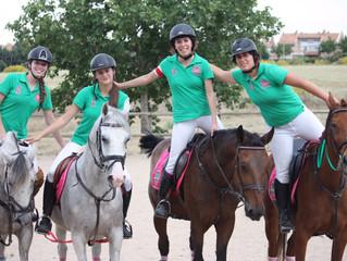 Victoria de nuestro equipo femenino de horseball