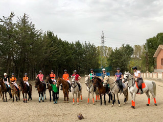 I torneo social intercategorías de horseball Valle Viñuelas