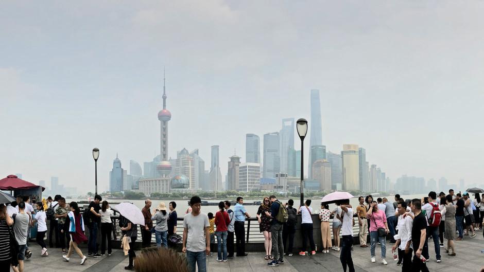 Stranded in Shanghai