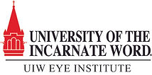 UIW EYE INSTITUTE horiz logo 1797BLACK_5