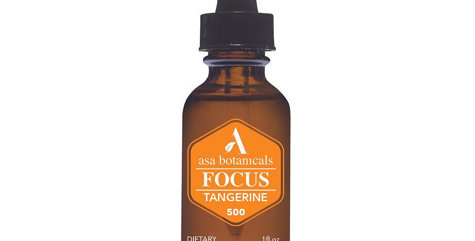 500MG Tangerine Flavored Hemp Oil
