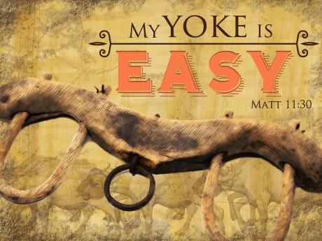 My Yoke is Easy