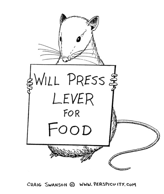 Will Press Lever for Food