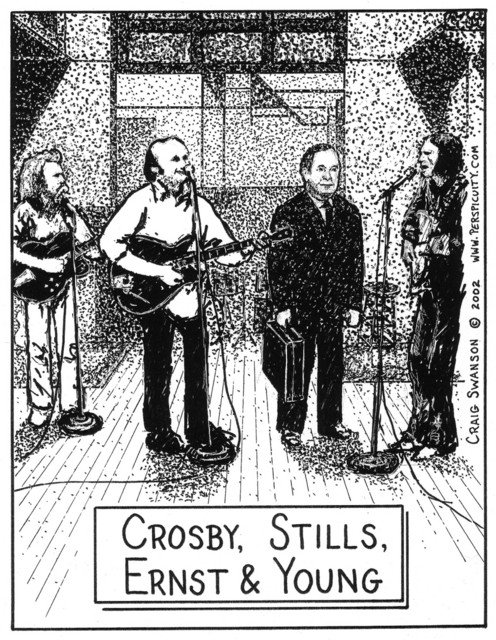 Crosby, Stills, Ernst & Young
