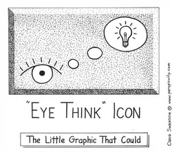 """Eye Think"" Icon"